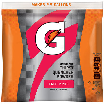 Gatorade® G® Series Perform Fruit Punch Sports Drink Powder 21 oz. Pouch