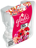 Glade® PlugIns® Poppy Groove™ Scented Oil Refills 2 ct Pack