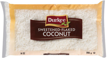 Durkee Sweetened Flaked Coconut 14 Oz Bag