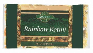 Haggen Rainbow Rotini Pasta 10 Oz Bag