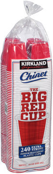 Kirkland Signature™ The Big Red Cup™ 18 oz. Plastic Cups 240 ct Bag