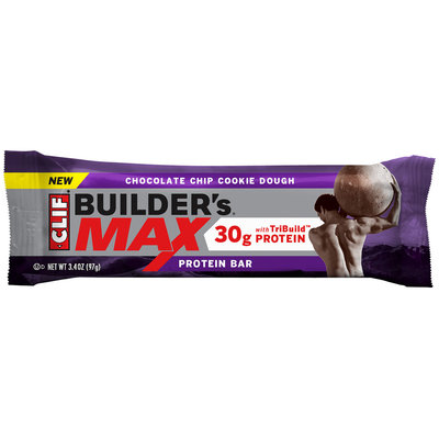 CLIF Builder's® Max Chocolate Chip Cookie Dough Protein Bar 3.4 oz. Wrapper