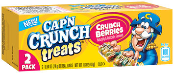 Cap'n Crunch® Treats Crunch Berries Cereal Bars 2 ct Box