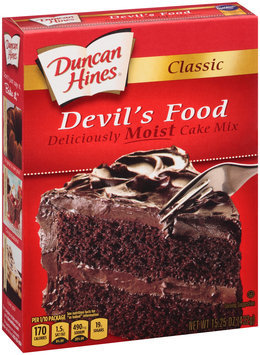 Duncan Hines® Classic Devil's Food Cake Mix 15.25 oz. Box