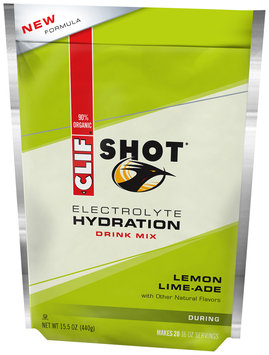 CLIF Shot® Electrolyte Hydration Lemon Lime-ade Drink Mix 15.5 oz. Pouch