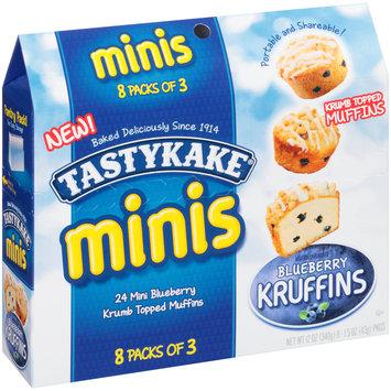 TastyKake® Minis Blueberry Kruffins 8-1.5 oz. Packs