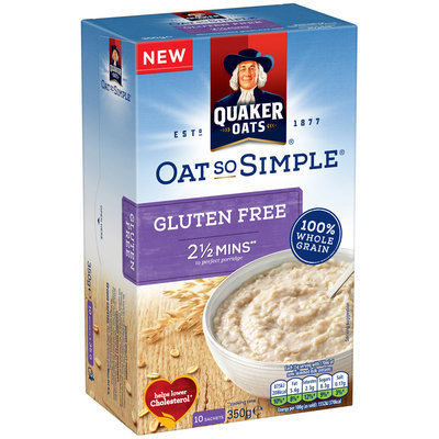 Quaker Life® Oat So Simple® 100% Whole Grain Gluten Free Porridge