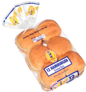 Evangeline Maid® Hamburger Enriched Buns 12 ct Bag