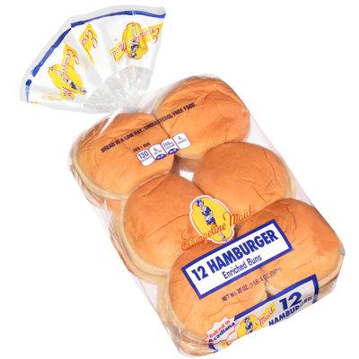 Evangeline Maid® Hamburger Enriched Buns 12 ct Bag