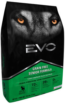 EVO Senior Formula Dog Food 28.6 lb. Bag