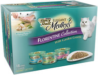 Purina Fancy Feast Elegant Medleys Florentine Collection Cat Food Variety Pack 18-3 oz. Cans