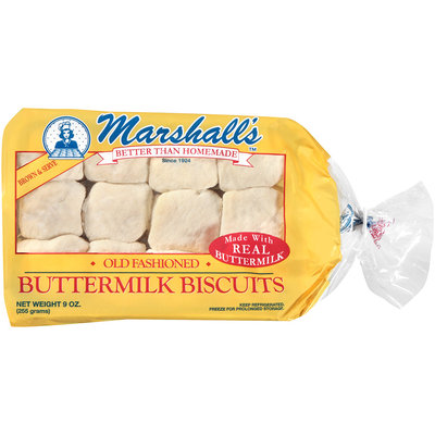 Marshall's™ Old Fashioned Buttermilk Biscuits 9 oz. Tray