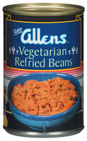 The Allens Vegetarian Refried Beans 16 Oz Can