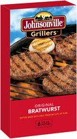 Johnsonville Grillers Original Brat Patties  24oz 6ct box (102031)