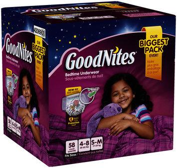 GoodNites® Girl's Bedtime Underwear Small/Medium 58 ct Box