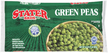 Stater Bros. Green Peas 32 Oz Bag