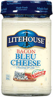 Litehouse Bacon Bleu Cheese Dressing & Dip 13 Fl Oz Jar