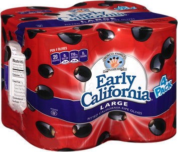 Early California® Large Pitted California Ripe Olives
