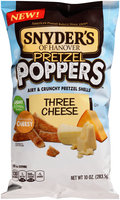 Snyder's Of Hanover Three Cheese Pretzel Poppers