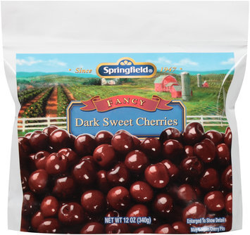 Springfield® Fancy Dark Sweet Cherries 12 oz. Bag