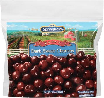 Springfield® Fancy Dark Sweet Cherries 12 oz. Bag