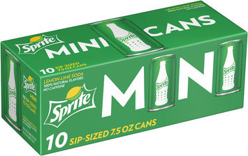Sprite® Mini Sip-Sized 10-7.5 fl. oz. Cans