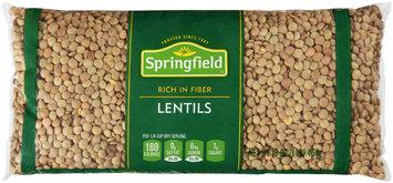 Springfield® Lentils 16 oz. Bag