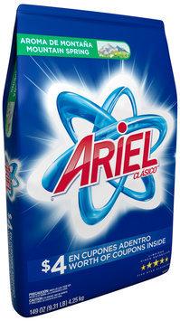 Ariel® Mountain Spring Laundry Detergent 149 oz. Bag