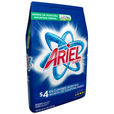 Ariel® Mountain Spring Laundry Detergent 149 oz. Bag