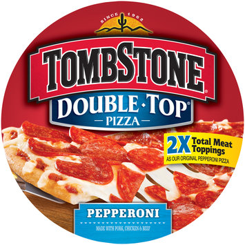 tombstone double top pepperoni pizza