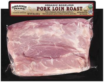 Organic Prairie Organic Boneless Pork Loin Roast 20 oz Package