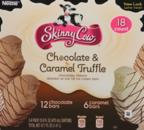 SKINNY COW Chocolate & Caramel Truffle Low Fat Ice Cream Bars 18 ct Box