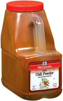 Spice Blends Dark Chili Powder 5.5 Lb Bottle