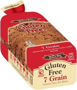 Better Way® Gluten Free 7 Grain Bread 18 oz. Loaf