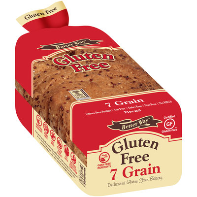 Better Way® Gluten Free 7 Grain Bread 18 oz. Loaf