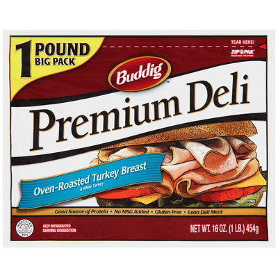 Buddig™ Premium Deli Oven-Roasted Turkey Breast 16 oz. Zip-Pak®