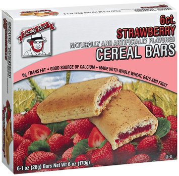 Daddy Ray's Strawberry Cereal Bars 6 Ct Box