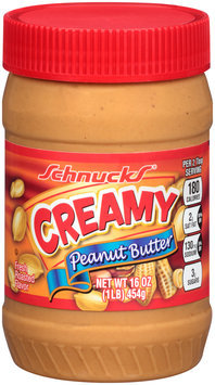 Schnucks® Creamy Peanut Butter 16 oz. Jar