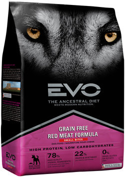 EVO Red Meat Formula Small Bites Dog Food 6.6 lb. Bag