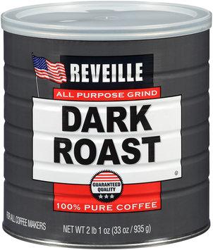 Reveille™ All Purpose Grind Dark ROast 100% Pure Coffee 33 oz Canister