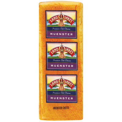 Land O'Lakes® Deli Muenster Cheese 6 Lb Loaf