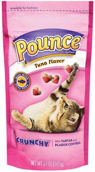 Pounce Tartar Control Crunchy Tuna Flavor Cat Treats, 2.1-Ounce