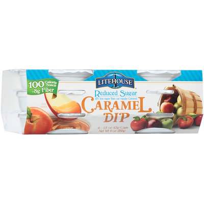 Litehouse™ Reduced Sugar Caramel Dip 9 oz. Sleeve