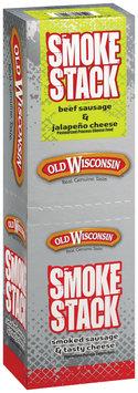 CADDIES 2.5 Oz Beef & Jalapeno Smoke Stack Sticks 25900 18 CT CADDY