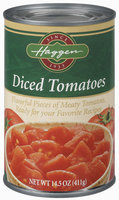 Haggen Diced Tomatoes 14.5 Oz Can