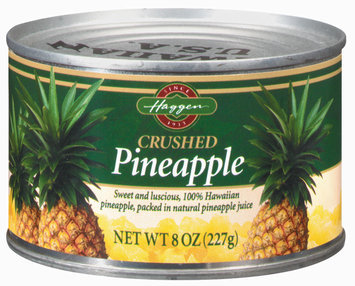 Haggen Crushed Pineapple 8 Oz Can