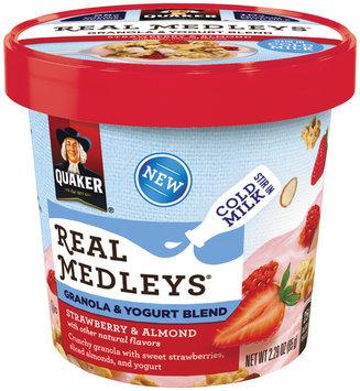 Quaker® Real Medleys Strawberry & Almond Granola & Yogurt Blend