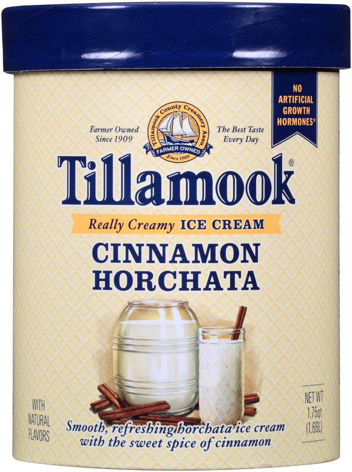 Tillamook® Cinnamon Horchata Ice Cream 1.75 qt. Carton