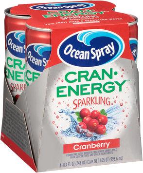 Ocean Spray Cran Energy Sparkling Cranberry Fruit Juice Drink
