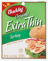 Buddig Original Extra Thin™ Turkey 4 Oz Peg